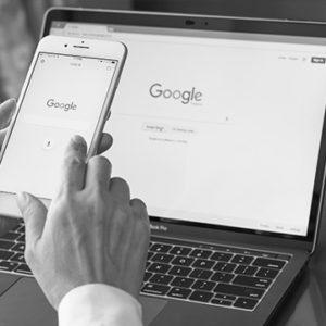 Positionnement du site sur Google